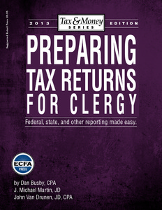 Preparing Tax Returns for Clergy